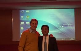 Chirurgijos konferencija Šanhajuje, Kinijoje. D.Razukevičius