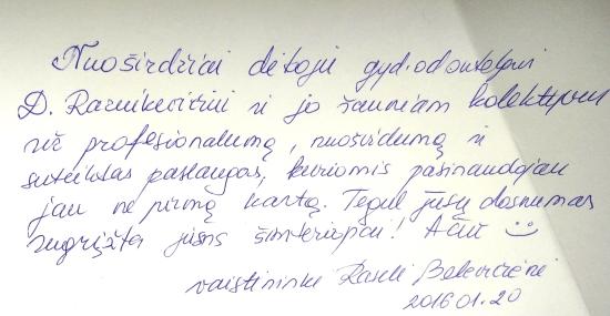 Kauno implantologijos centras. Atsiliepimai