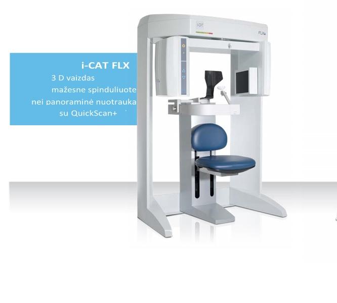 iCAT FLX kompiuterinis tomografas